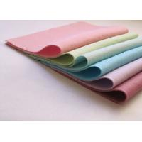 Wholesale Pink Green Non Woven Polyester Felt Fabric Sheets Needle Punched Technics from china suppliers