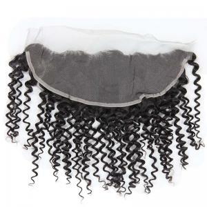 Wholesale Healthy Natural Lace Frontal Closure 13 X 4 Raw Human Hair No Shedding from china suppliers