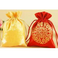 Wholesale satin drawstring bag / wedding party favor gift satin  bag from china suppliers
