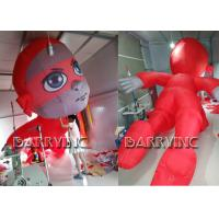 Wholesale CE Certificated Outdoor Giant Advertising Inflatables Red Inflatable Hero Cartoon from china suppliers