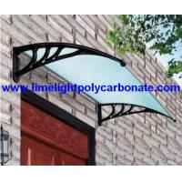 Wholesale Door Canopy, Polycarbonate Awning, Diy Awning, Pc Awning, Pc Canopy from china suppliers