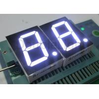 Wholesale Single Numeric Digit LED Display 1.00 Inch 1 Digit White / Red Color Vertical Byte 2.54cm from china suppliers