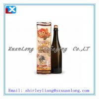Wholesale round cardbaord wine tube wine box paper tube from china suppliers
