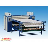 China Large Format Calender Heat Press Machine 420mm Drum Diameter Oil Heating on sale