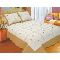 Wholesale Leaf Pattern Embroidery Quilt Kits With High Standardized Production Line from china suppliers