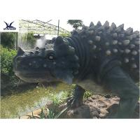 Wholesale Artificial Animatronic Dinosaur Lawn Statue For Outdoor Amusement Theme Park from china suppliers