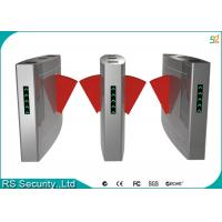 Wholesale Blue Wing Retractable Flap Barrier Gate Widely Used Airport Railway Station from china suppliers