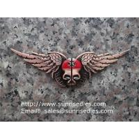 Wholesale Halloween Skull Bat Magnetic Folding Metal Money Clip, batman fold magnet money clip from china suppliers