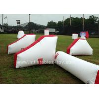 Wholesale 0.9mm PVC Inflatable Air Bunker Shooting Inflatable Sport Games For Playground from china suppliers