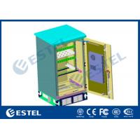 Wholesale Double Wall Outdoor Power Cabinet 15U Rack Air Conditioner Cooling With One Battery Shelf from china suppliers