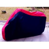Wholesale 100% Waterproof Motorcycle Cover For Harley Davidson Black + Red from china suppliers