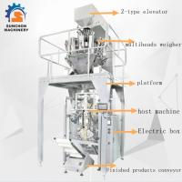 Wholesale SUN -520 Stainless Steel Multiheads Weigher Weighing Popcorn Noodle Snack Food Puffy Food from china suppliers