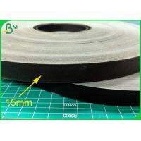 China 60GSM 15MM Food Grade Straw Paper Roll With Black Color Printing for sale