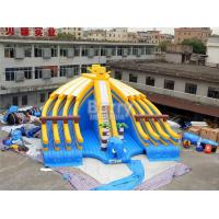 Wholesale Yellow And Blue Spongebob Inflatable Water Slides For Pool With Digital Printing from china suppliers