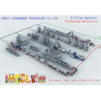 China Fully Automatic Juice Filling Equipment / Juice Filling Production Line/perfect water product line on sale