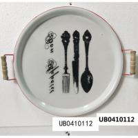 China Creative Ceramic wall Plate painted hand-painted disk home dish decoration hanging plate steak plate restaurant ceramic for sale
