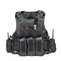 Wholesale Outdoor Army Military Bulletproof Vest Tactical Vest Outdoor Vest for Field Play from china suppliers