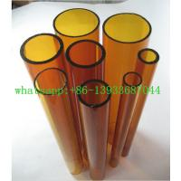 China Colored borosilicate pyrex glass tube 17 colors tubing pipes and 28 colors glass rod in China on sale