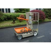 Wholesale 5.1m Working Height Aerial Order Picker Electric Cargo Handling Work Platform from china suppliers