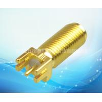 Wholesale Golden RF Cable Assembly SMA Long Straight Head Antenna Pedestal from china suppliers