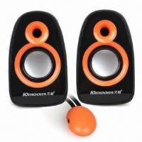 Wholesale USB 2.0 Mini Speakers for Laptop, with 3W x 2 Output Power from china suppliers