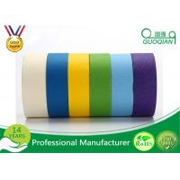 Wholesale Black / White / Purple Textured / Crepe Paper Multi Colored Painters Tape 30m 48m from china suppliers