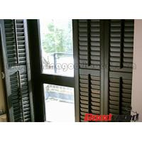 Wholesale Painted Basswood Decorative Adjustable Louver Plantation Window Shutter from china suppliers