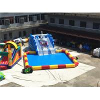 Wholesale Outdoor Big Amazing Portable Blast Sharp Slide Inflatable Floating Water Park from china suppliers