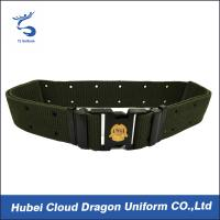 China Outdoor Security Uniform Accessories Police Officer Utility Belt Free Size on sale