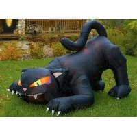 Wholesale CE Certificate Outdoor Giant Advertising Inflatables Black Cat For Halloween Festival from china suppliers
