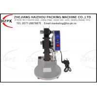 China 40 W Ribbon Printing Machine , 3 Lines Hot Stamp Printer CE Approved on sale