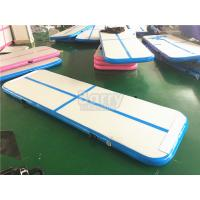 Wholesale Blue Air Tumble Track And Gymnastic Equipment , Air Track For Gymnastics from china suppliers
