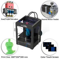 Wholesale Plastic Creatbot DX 3d Printer , Large Format 3d Printer 0.05 Mm Max Resolution from china suppliers