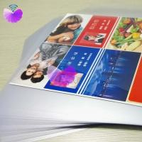 China PVC Unoated Overlay MUO-W/PVC uncoated overlay for card body lamination/glue coated film/Card lamination materials on sale