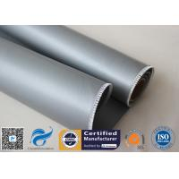 Wholesale Oil Pipeline Insulation Silicone Coated Fiberglass Fabric Material 0.4 MM Thickness from china suppliers