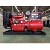 Hot sale 40KW/50KVA diesel generator set for home powered by Ricardo diesel engine K4100D in red for sale