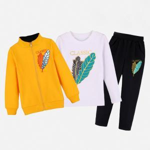 China Tracksuit organic cotton boutique baby boy kid children clothes set on sale