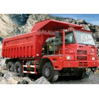 Buy cheap Heavy Duty Mining Dump Truck / Ten Ton Dump Truck With 14.00-25 Tyres from wholesalers