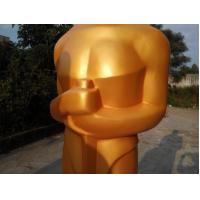 Wholesale Event party decoration custom golden fiberglass Oscar statue  for sale from china suppliers