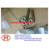 Wholesale ASTM A193 B8C stud bolt with ASTM B194 8C nuts from china suppliers