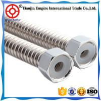 Wholesale Tianjin supplier Teflon PTFE hose assembly stainless steel Corrugated  metal shower hose to deliver hot water from china suppliers
