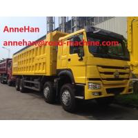 Wholesale 8x4 Heavy Duty Dump Truck EURO II EURO III For Unloading Building Materials from china suppliers
