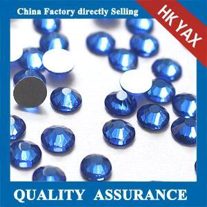 China non hot fix flatback rhinestones,china manufacturer non hot fix rhinestones flat back on sale