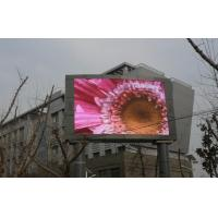 Wall Mounted P10 Outdoor Full Color Led Display For Commercial Advertising for sale