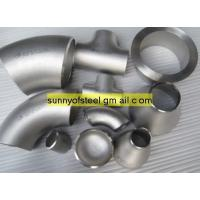 Quality ASTM A403 WP348 seamless pipe fittings for sale