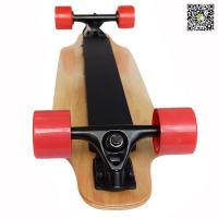 Automatic Skateboard Remote Controlled Longboard With Electric Motor