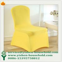 Wholesale Yishen-Household Cheap wedding polyester stretch spandex lycra chair cover from china suppliers