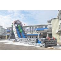 Wholesale Grey Summer Commercial Splash Giant Inflatable Water Slide 25x4.3x9.5M from china suppliers