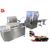 Automatic Acrylic Spray Paint Filling Machine 2000-3600cans/hour Stainless Steel for sale