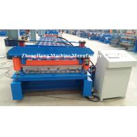 Quality Iron Sheet Zink Metal Building Material Cold Roll Forming Machine For Metal Roofing for sale